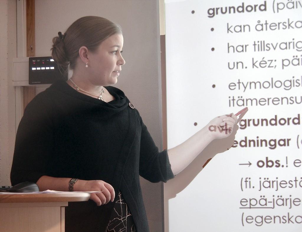 Mari Keränen har fått stipend fra den finske ordbokstiftelsen til å samle inn kvenske ord. Nå jakter hun på informanter.