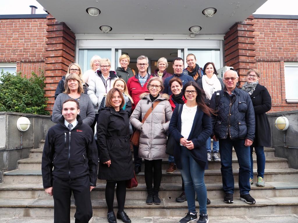 Sist uke besøkte Same- og minoritetsavdelingen ved kommunal -og moderniseringsdeparrtementet kvenmuseet i Vadsø. KUVA VADSØ KVENMUSEUM