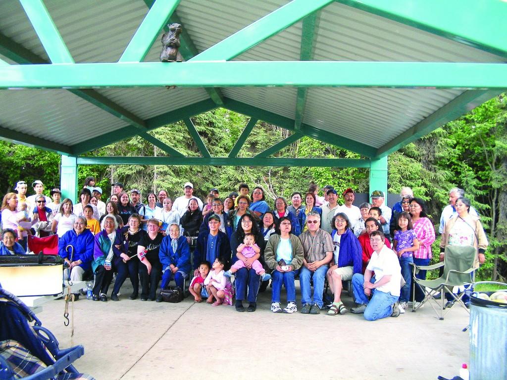 Det ble arrangert slektstreff både i Anchorage og Kotzebue. Her fra Anchorage.