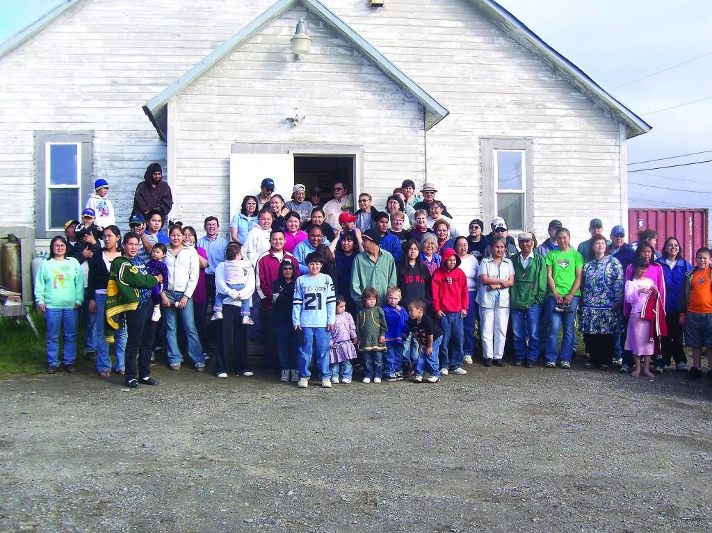 Det ble arrangert slektstreff både i Anchorage og Kotzebue. Her fra Kotzebue.