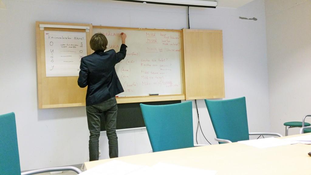 Hvordan skal det går når foreleseren ikke snakker norsk? KUVA HEIDI NILIMA MONSEN