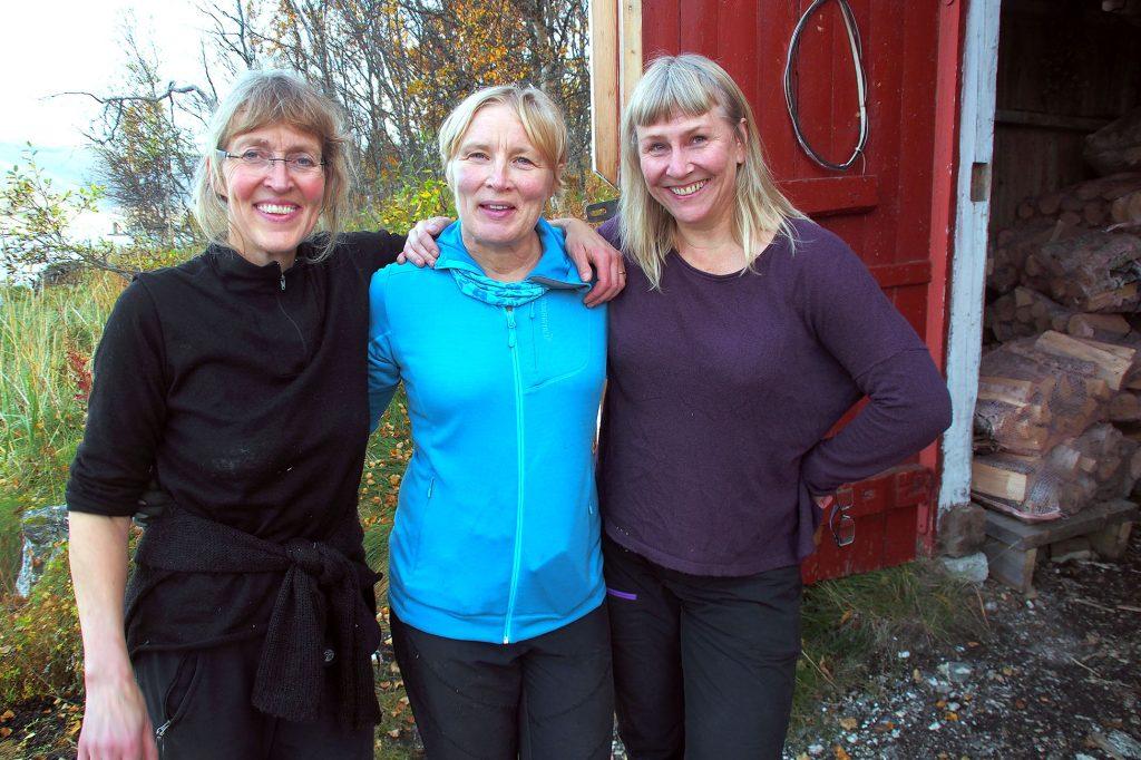 Merete Nypan, Anne Myrstad ja Ingrid Sommerseth. KUVA LIISA KOIVULEHTO