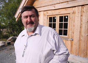 Håkon Karlsen ser på det som en stor ære å få bli med å presentere den nordnorske historien gjennom flyhaledesign. Bilde fra 2010. KUVA LIISA KOIVULEHTO
