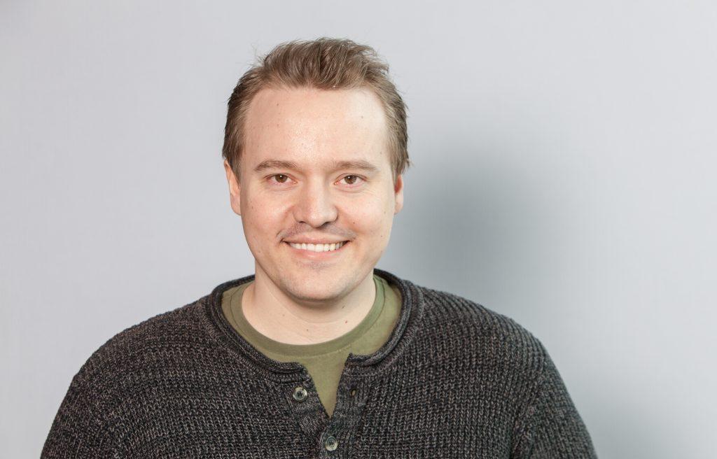Leder av tv-aksjonen for Troms og Finnmark, Eskild Johansen, er imponert over kvenenes innsats. KUVA JOHNNY SYVERTSEN