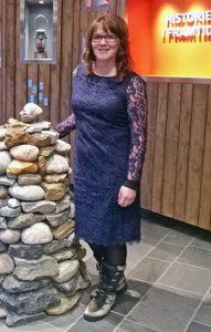Inger Birkelund er svært stolt over at prosjektet «Our Stories» har blitt så stort. KUVAT HEIDI NILIMA MONSEN