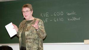 Siden vinter 2006 har det vært mange kurs, både for nybegynnere og videregående, med Eira Söderholm som lærer.