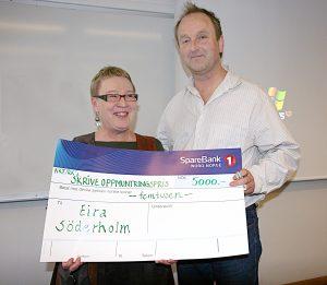 Norske kveners forbund-Ruijan kveeniliitto ga Söderholm sitt skriveoppmuntringspris i 2008.