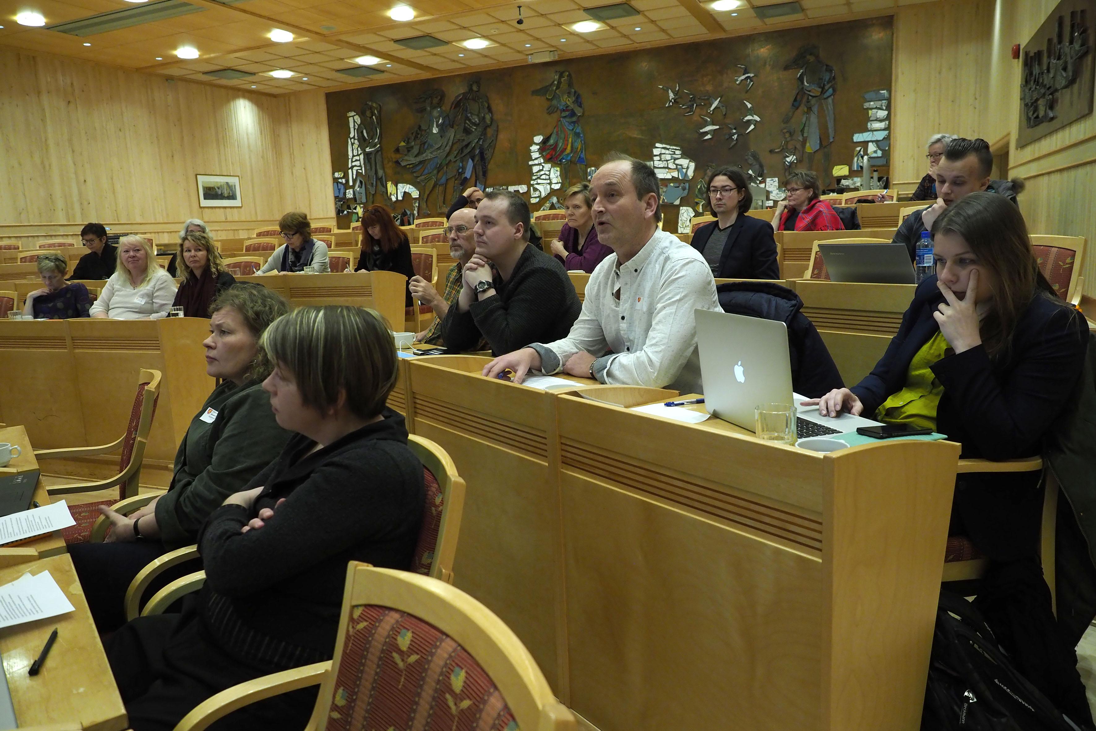 Tromssan fylkinkommuni oon tehny kväänin kielen ja kulttuurin plaanan