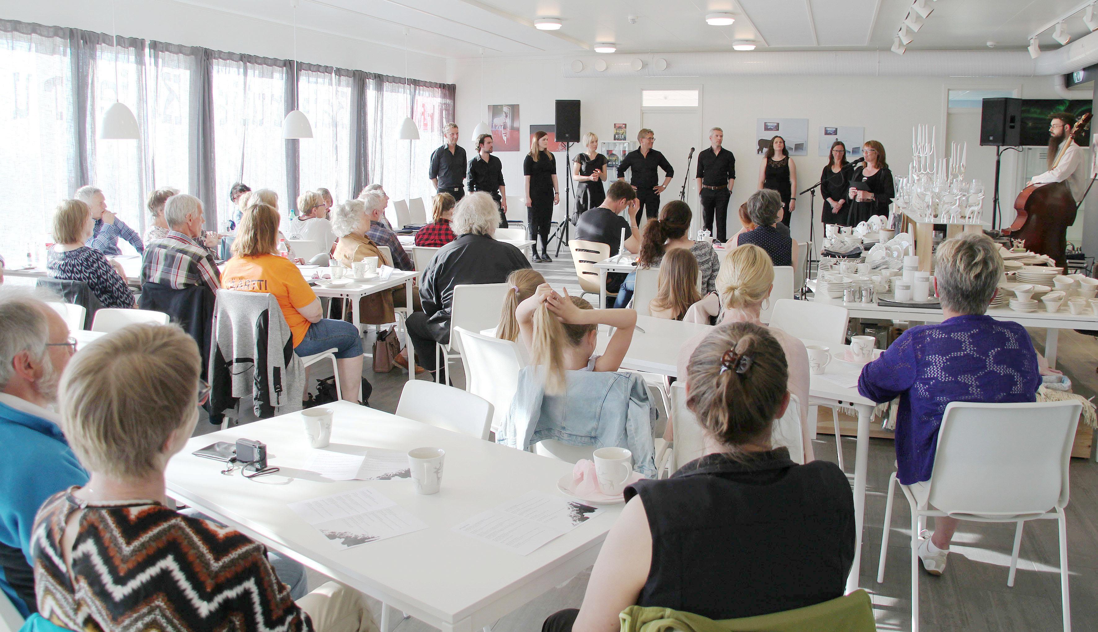 Kväänimusikkii Tromssan Kulttuuritalolla