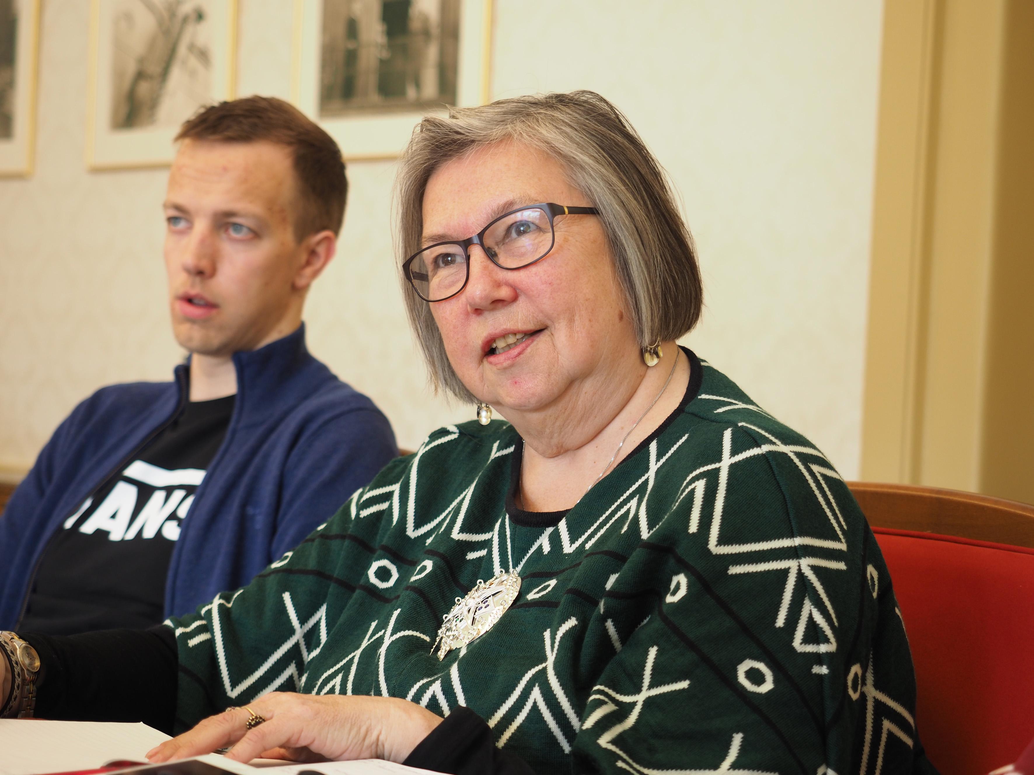 – Kväänin kirkonelämä oon kansalinen velvolisuus