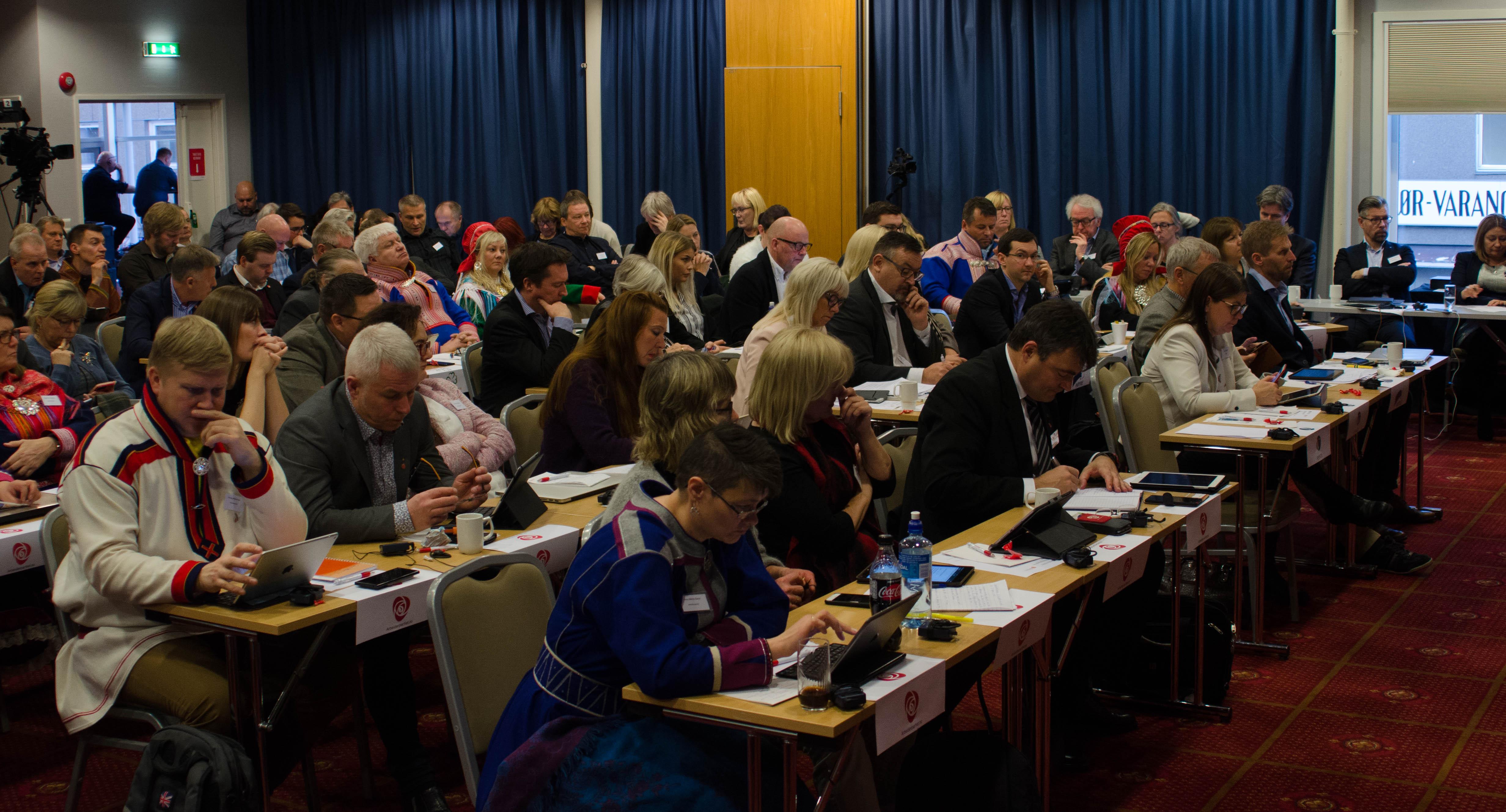 Første fellesmøte med Troms og Finnmark: Mange navneforslag, men ingen på kvensk