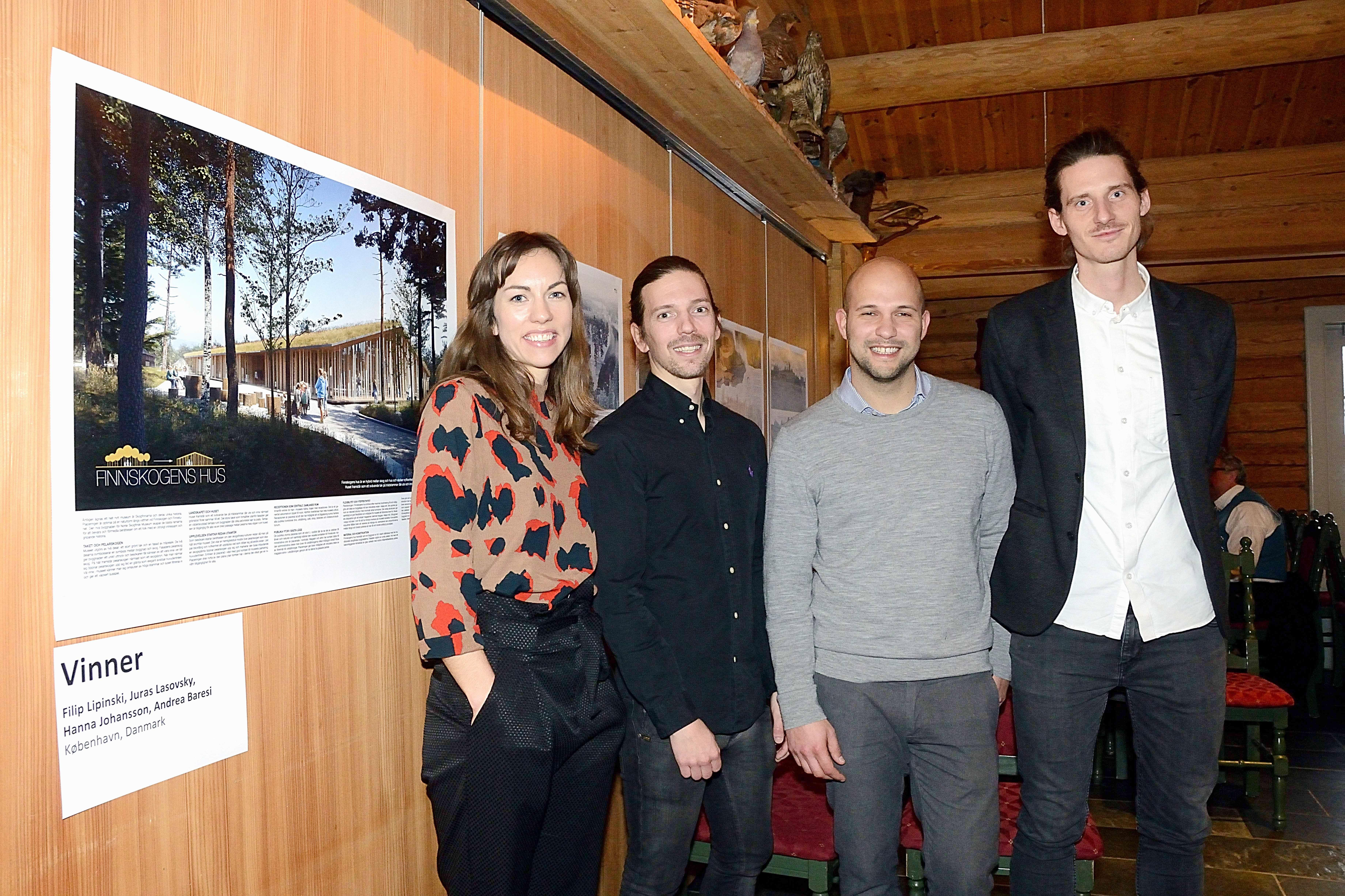 «Finnskogens hus» vant konkurranse