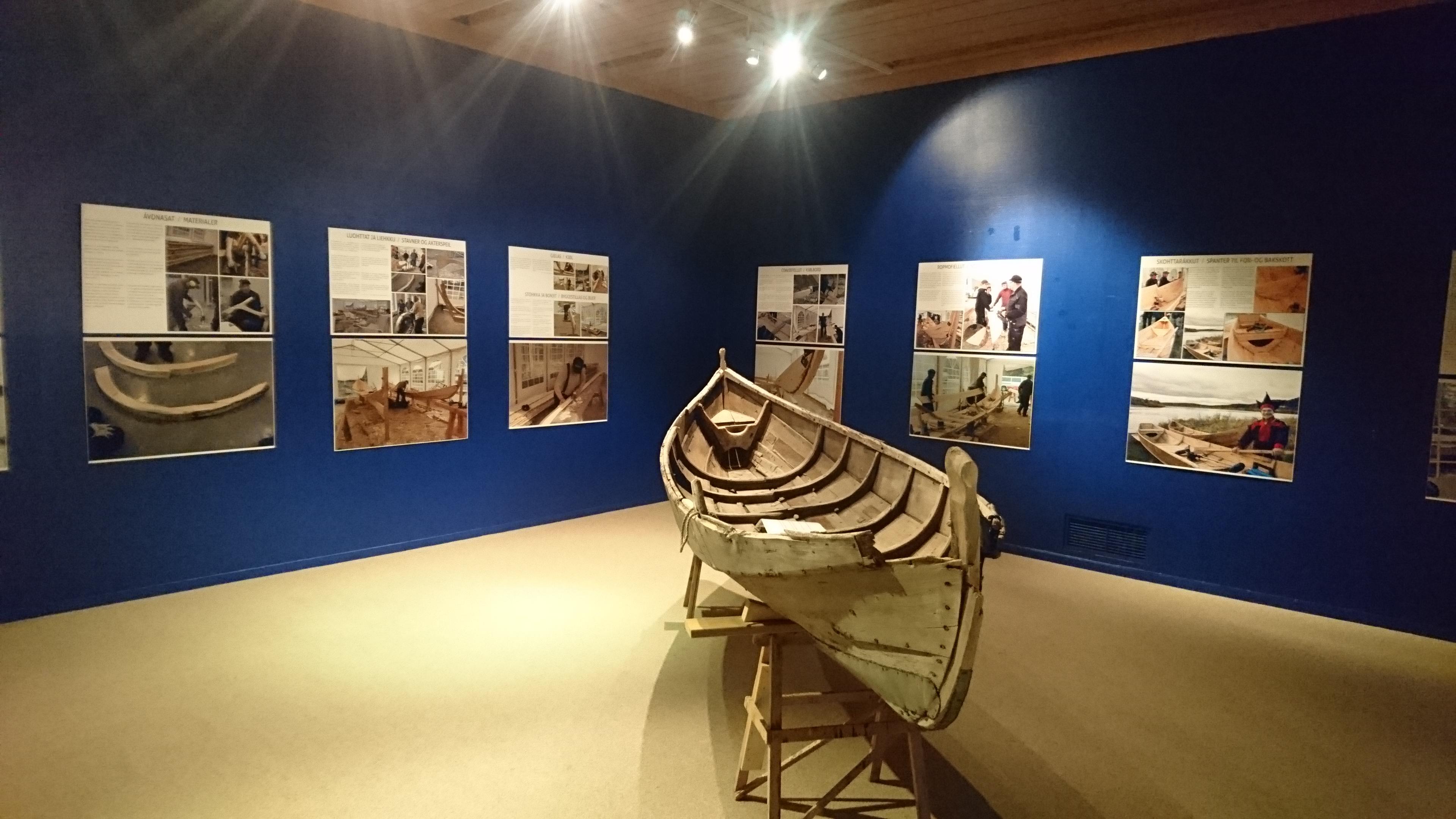«Elvebåten» – utstilling i Lakselv