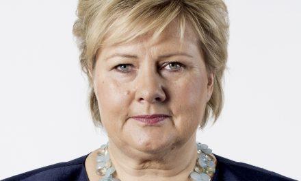 Statsminister Erna Solberg i Alta på Kvenfolkets dag