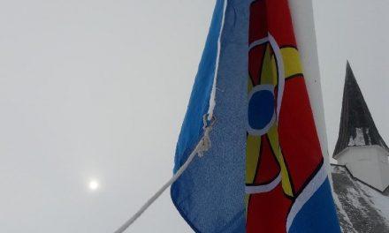 Porsanger heiste flagg