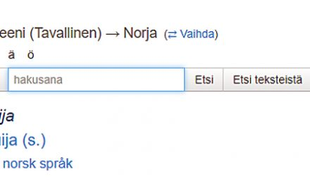 Kvensk navn på DET NYE FYLKET I NORD