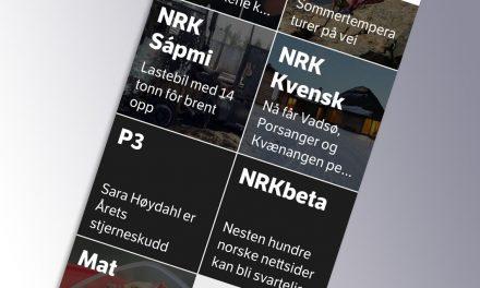 Nå finner du NRK Kvensk i NRK-appen