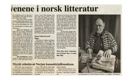 Myter og sannheter om kvenene i norsk litteratur