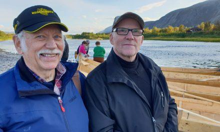 Intervju på finsk: Elvebåten i våre hjerter