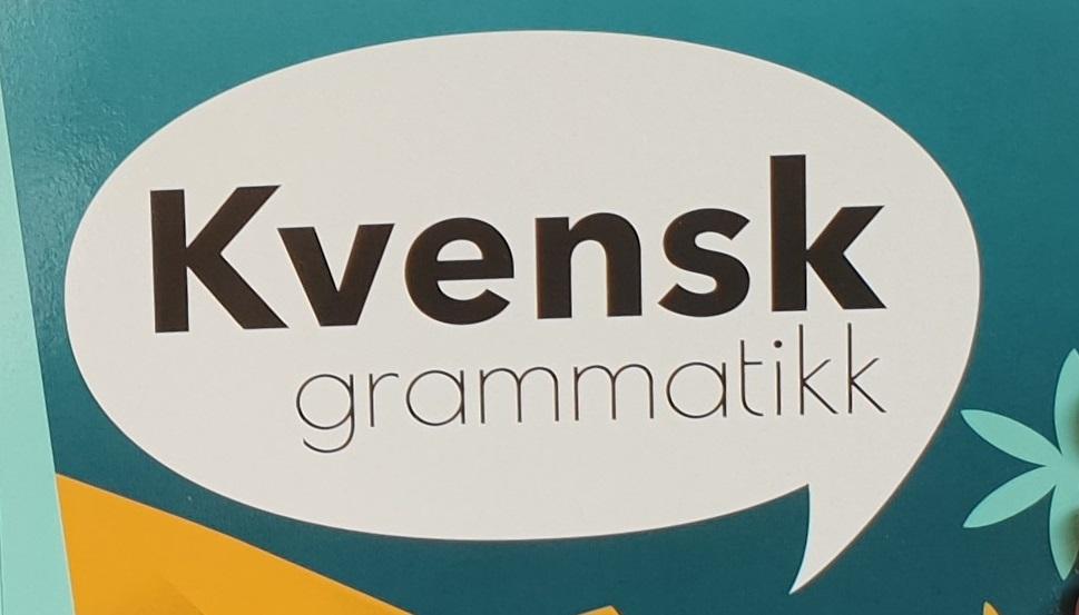 Fersk fra trykken – ny kvensk gramatikk