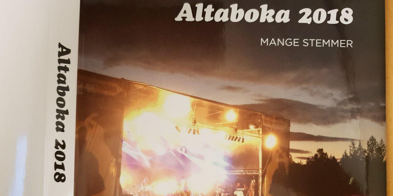 Altaboka 2018: Mange stemmer