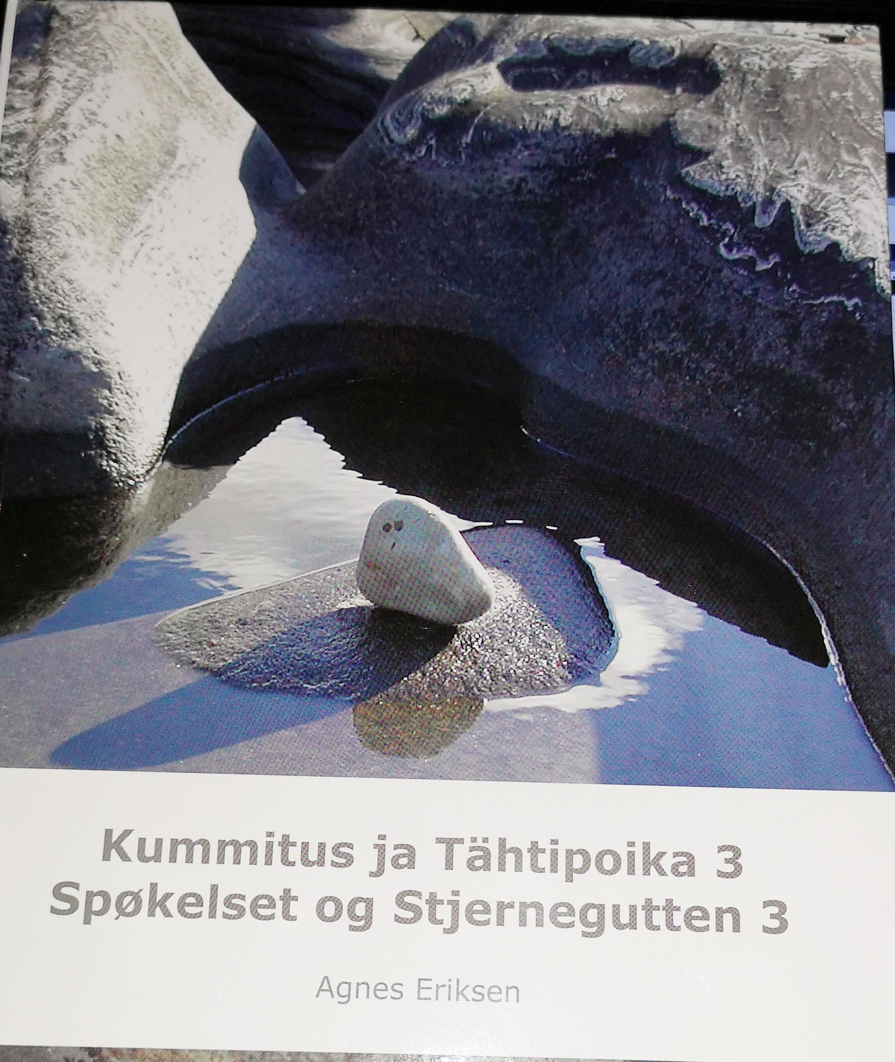 5cd4f2bd Trippel om gutten og spøkelset; den tredje boken i serien om «Kummitur ja  Tähtipoika,» Spøkelset og stjernegutten, er i salg nå.