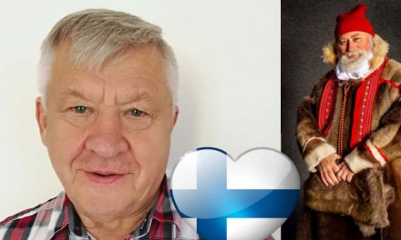 Gleder seg til å feire Finland