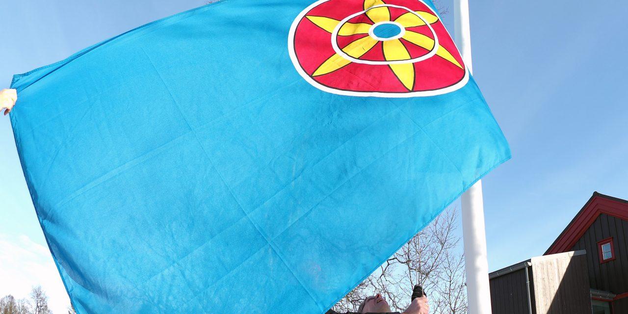 Kvenflagget i vinden