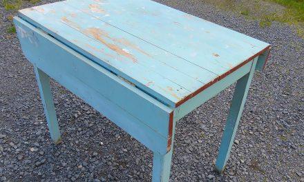 Sininen pöytä  • Blått bord
