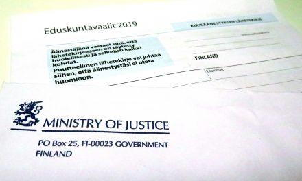Suurin uuđistus Suomen vaalilaissa 110 vuotheen