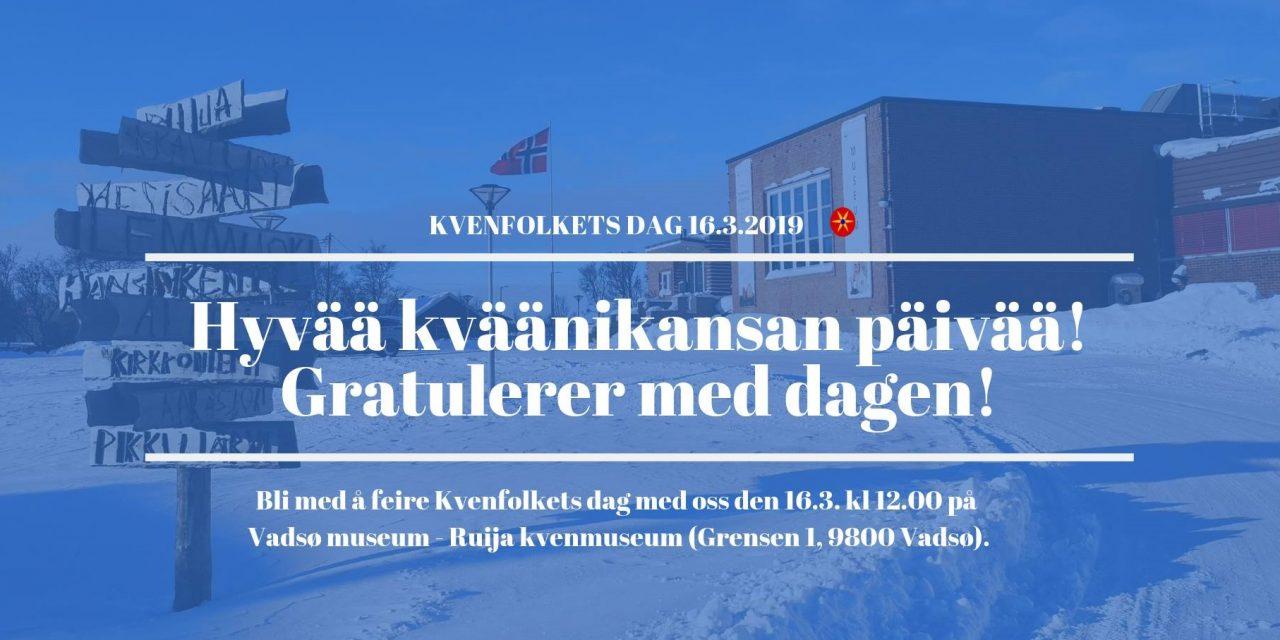Kvenquiz og barnesang: Mye moro i Vadsø på Kvenfolkets dag