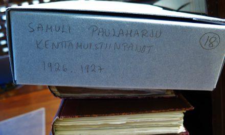Paulaharju-arkivet og andre perler er åpne for besøkende