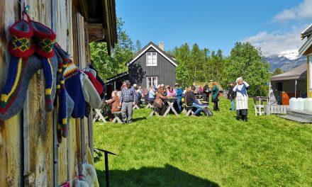 Glimt fra søndagens familiedag på Tørrfoss kvengård