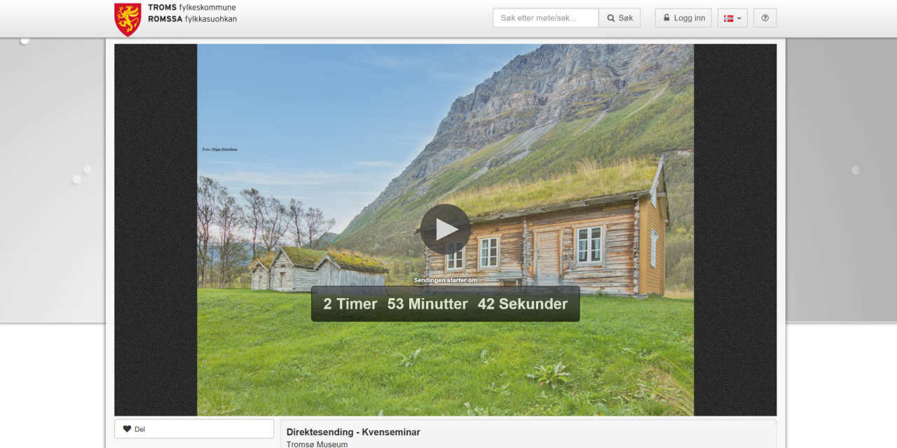 Skjer i dag: Følg Kvenseminaret 2019 på nett