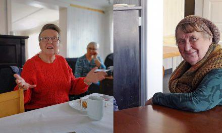 Språkengasjerte søstre i Bugøynes