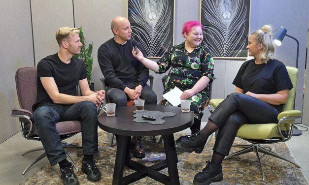 Ruijan Radio fikk intervju med supergruppe