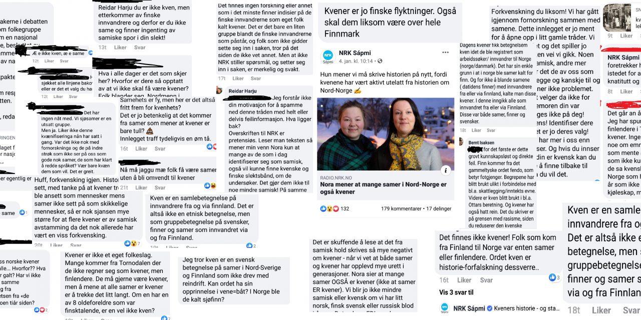 NRK Sápmi slettet debatt om kvener