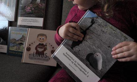 Tyhä kuusi kvääninkielistä lastenkirjaa