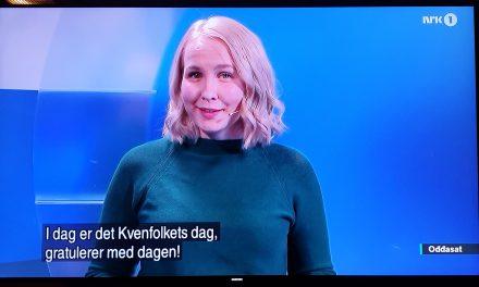 Også NRK husket Kvenfolkets dag