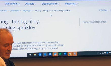 Glad for at språkloven gir økt status for kvensk