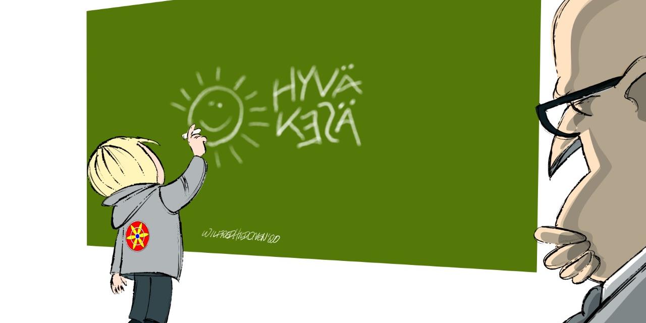 Blir du med på kvensk skoledugnad? • Työtelemhään yhtheisvoimin koulukainun puolesta?