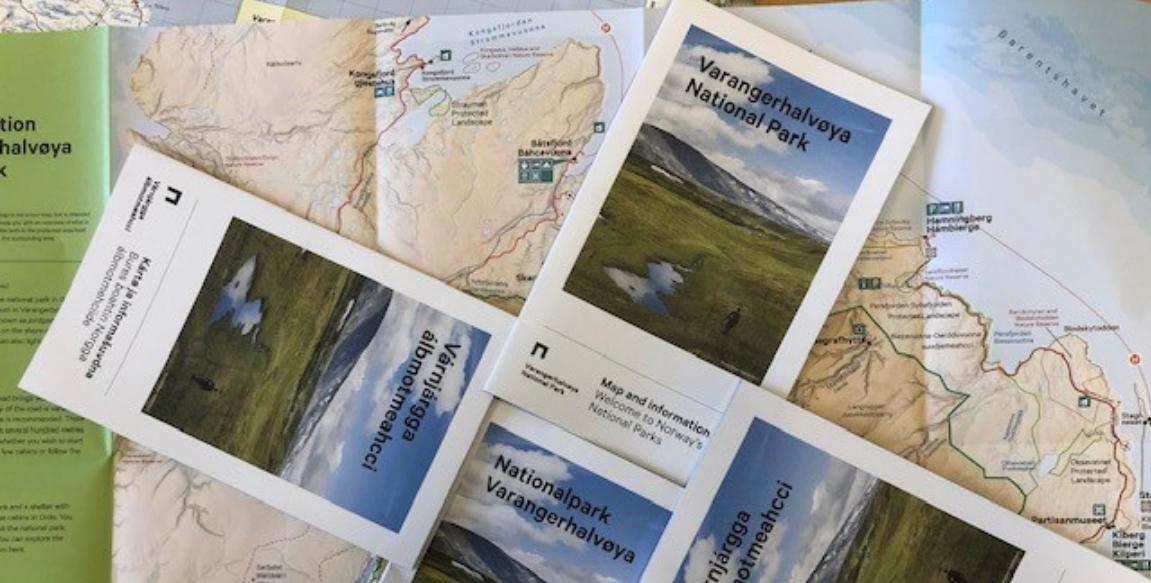 Kan oppdatere kart og lage brosjyrer