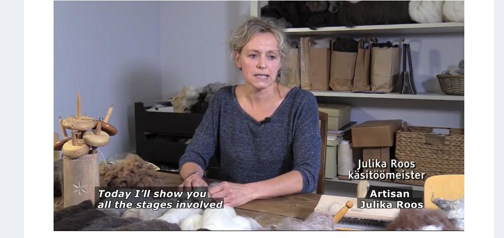 Ble overrasket over søsterfolkets håndarbeidstradisjoner