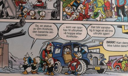 «Ørn Knirkola» gjør sitt livs hopp i Donald
