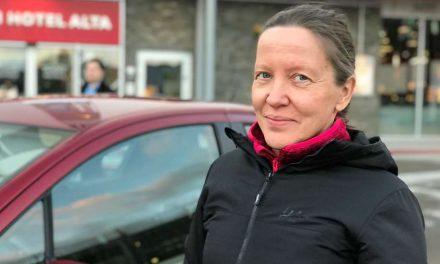 Finske Marja-Leena gjør en korona-innsats i Norge