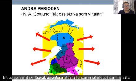 Suomen kirjakieltä oon kehitetty 500 vuotta