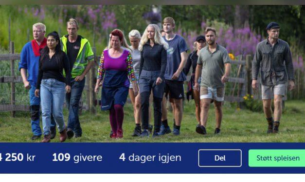 Starter kronerulling for kirkene i Porsanger