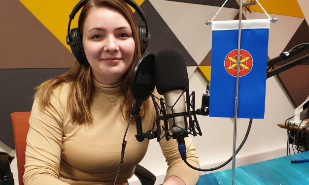Ruijan Radio: Kvenflagg og ivrig ungdom