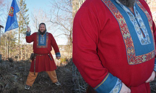 Lot det kvenske inspirere vikingdrakten