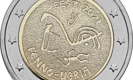 Betal med finsk-ugrisk prydet mynt